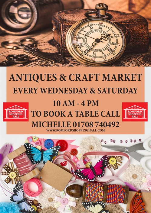 antiques and craft